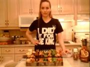 How to BBQ Mole Chicken Side Skewers: Cooking Adventures with Kimberly