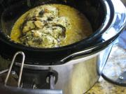 Use pressure cooker for defrosting frozen food - Meat, poultry or pork