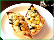 Cheesy Corn Toast