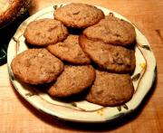 Chocolate Mincemeat Cookies