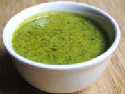 Parsley Flavored Veloute Sauce
