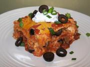 Tex Mex Chicken Lasagna