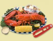 Lobster breakfast is healthy