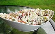 Frozen Banana Salad