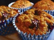Blueberry Wheat Germ Muffins