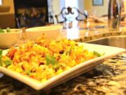 Quick and Easy Fish & Shrimp Biriyani