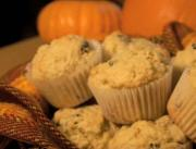 Spicy Pumpkin Muffin with Walnuts