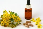 St. John's Wort - herbal remedy for depression anxiety
