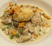 Traditional Creamed Chicken
