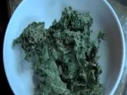Raw Vegan Sour Cream and Dill Kale Chips