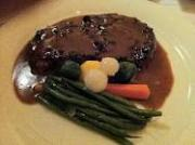 Bake ribeye steak