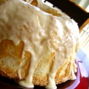 Seattle Cappuccino Angel Food Cake
