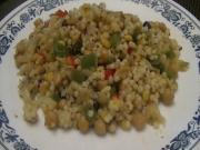Israeli Couscous and Chickpea Pilaf
