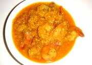 Creamy Fish & Prawn Shrimp Masala