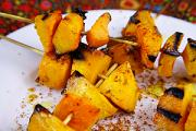 Grilled butternut.