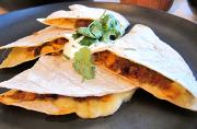 Creamy Greek Quesadilla