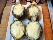 Philly Cheesesteak Stuffed Bell Peppers on the Kamado Joe