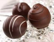 Yummy chocolate truffle