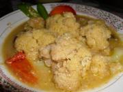 Nariyal Ima Dudh Ma Randhelu Cauliflower
