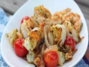 Nom Nom Paleo App Review - Sauteed Shrimp with Cherry Tomatoes