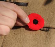 McDonalds Staffers to wear poppies in honor of war veterans
