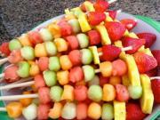 Fruit Sticks with Kids