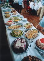Arrange for a buffet