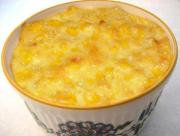 Corn And Cheese Souffle