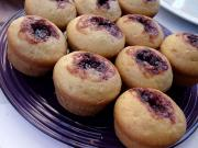 Jellied Cranberry Muffins