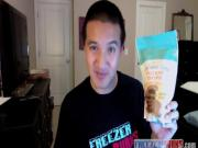 Free Magnum Ice Cream, Chocolate Covered Potato Chips Review: Freezerburns N.O.W. Vlog #2