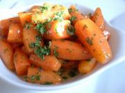 Oven Braised Whole Baby Carrots
