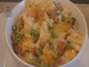 Macaroni & Cheese (& Peas & Bacon)
