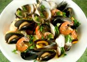 Simply Steamed Seafood