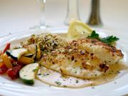 Halibut is a tasty flat fish