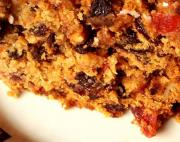 Brandy Walnut Fruitcake