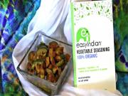 Easy Indian Vegetable Seasoning - Zucchini and Potato Dry Curry