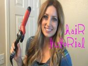 Tousled Curls Hair Tutorial