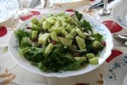 Cucumber Spinach Toss