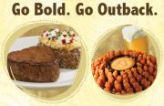 Outback Steakhouse menu