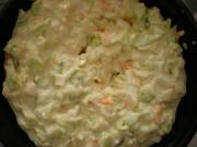 Cabbage and Green Pepper Slaw