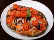 KOCHEN: Schnelle Küche - Pizza für Faule -