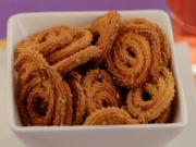 Baked Chaklis (Low Calorie) by Tarla Dalal