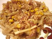 Tangy Cabbage and Corn