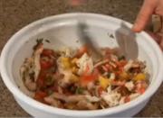 Southwestern Style Seafood Salad