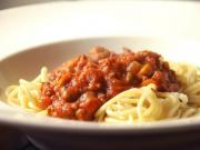 Rustic Meat Sauce And Pasta