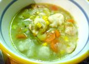 Fish Dumplings With Crab Sauce