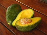 Avocados have a high fiber content amongst all other fruits. It has 75% insoluble and 25% soluble fibers.