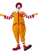 Food Mascot - Ronald McDonald