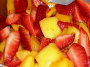 Organic Mango and Strawberry Salad