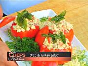 Orzo & Turkey Salad